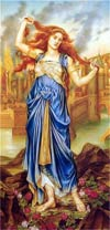Casandra. Evelyn De Morgan 1898